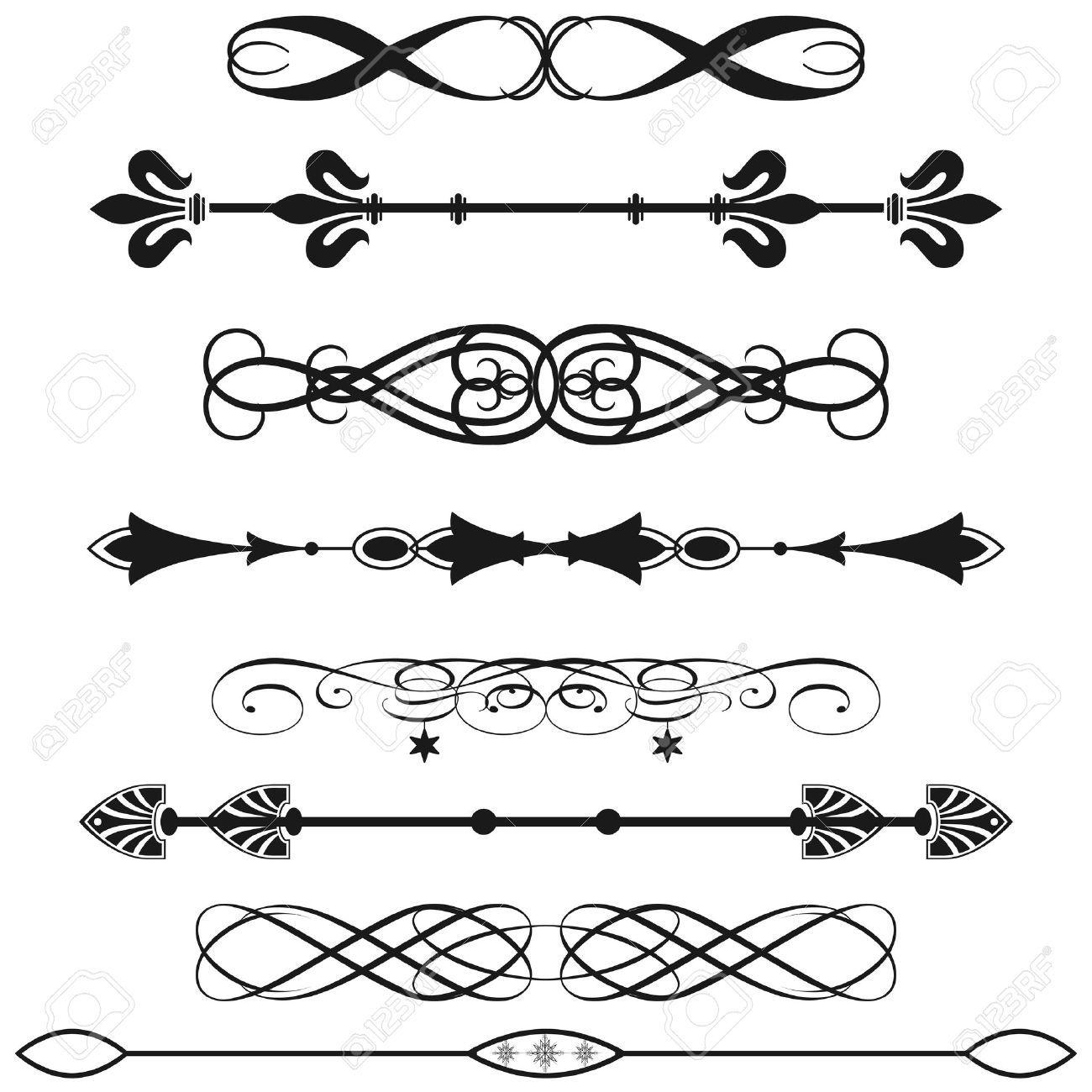 Line Art Vector Design : Horizontal line designs google search cricut