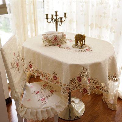 cheap moda mesa elptica ovalada pao de comedor cubierta de tela toalla mantel cubre manteles bordados