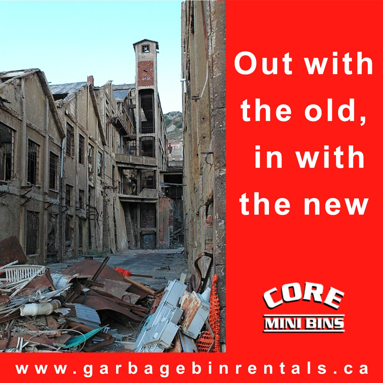 Our demolition team has the knowledge and expertise to