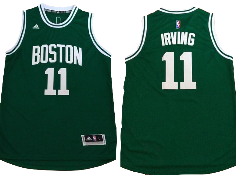 new product dec89 02cb6 Boston Celtics Jersey - Kyrie Irving Green Jersey ...