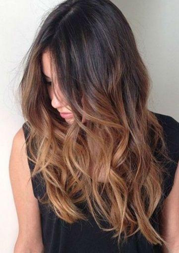 Colores De Cabello Para El Verano Cabello Oscuro Balayage Peinados