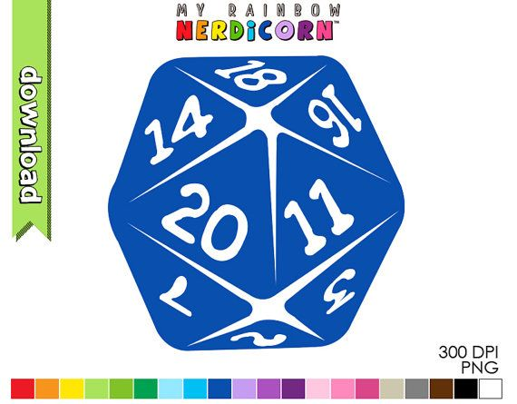 Hey, I found this really awesome Etsy listing at https://www.etsy.com/listing/263631068/dungeons-and-dragons-dice-clipart