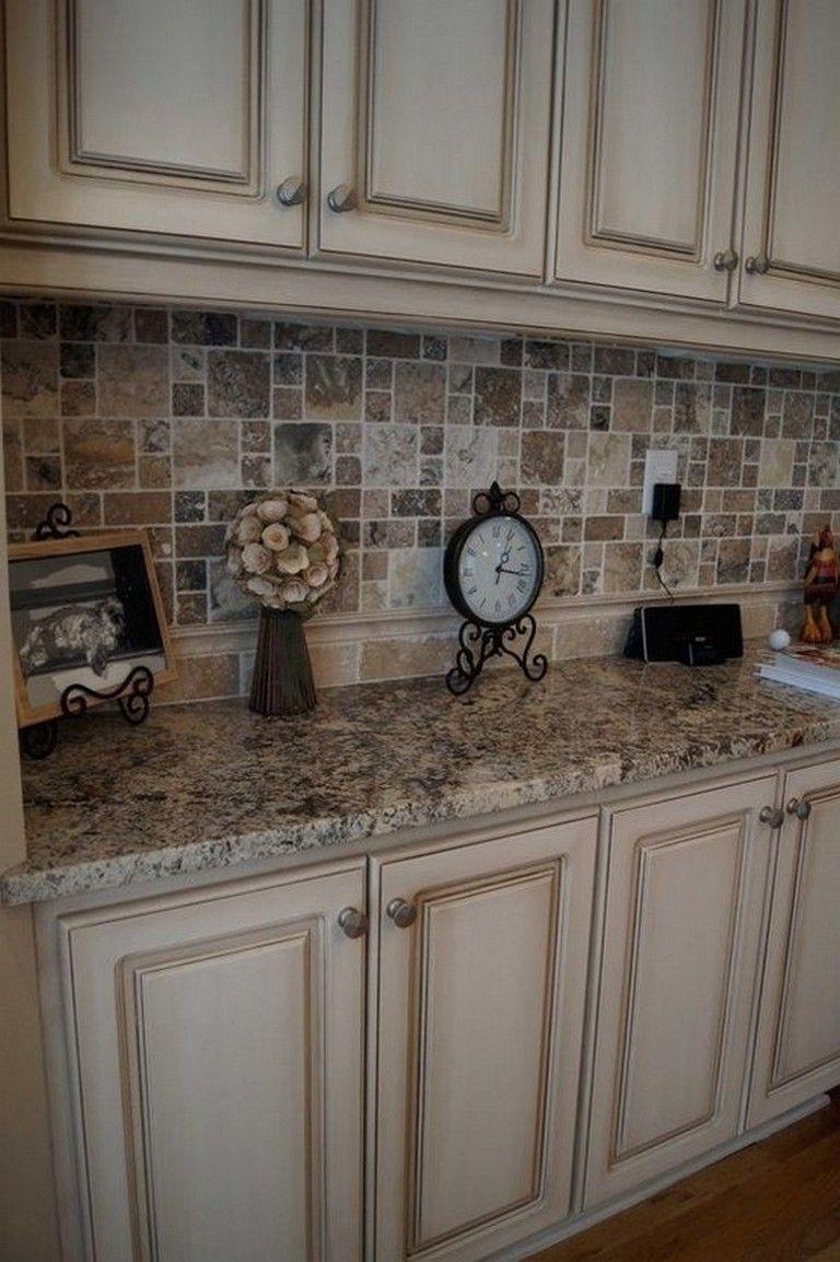 40+ Gorgeous Cream Colored Kitchen Cabinets | Cream ...