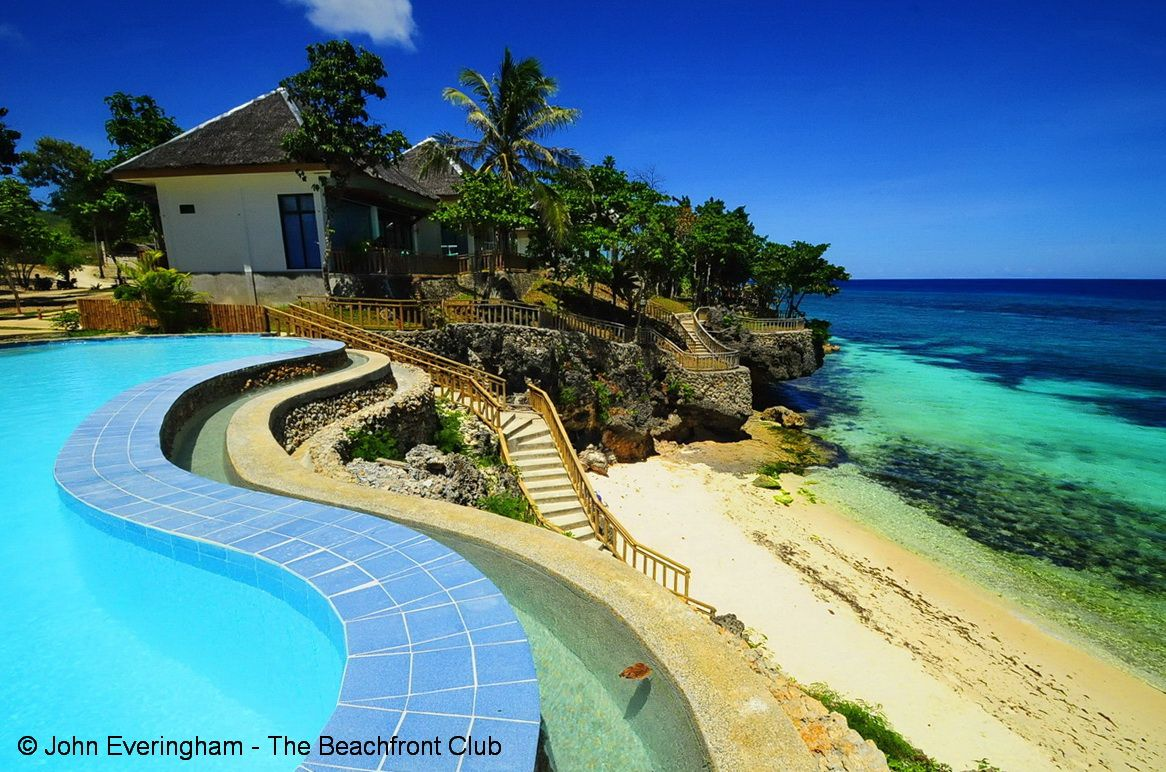 Bohol Philippines Molave Cove Resort sits on