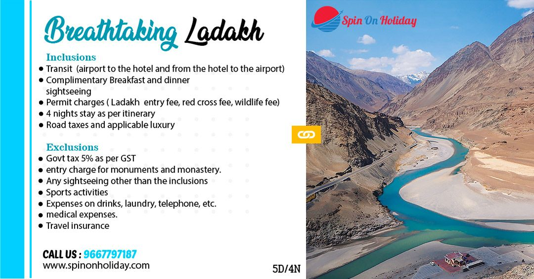Ladakh Tour Package Explore yourself with the beauty of Ladakh amp experience the dense forest, mount