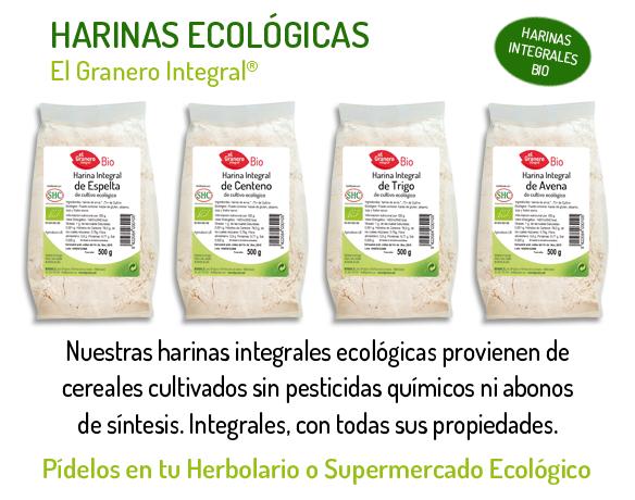 banner_harinas, de venta en APETECE ecológicos, calle Camino del Pato, 16- MÁLAGA- 951-286303- Whats-app 669 765979 - Productos y Elaborados Ecológicos y de Herbodietética.