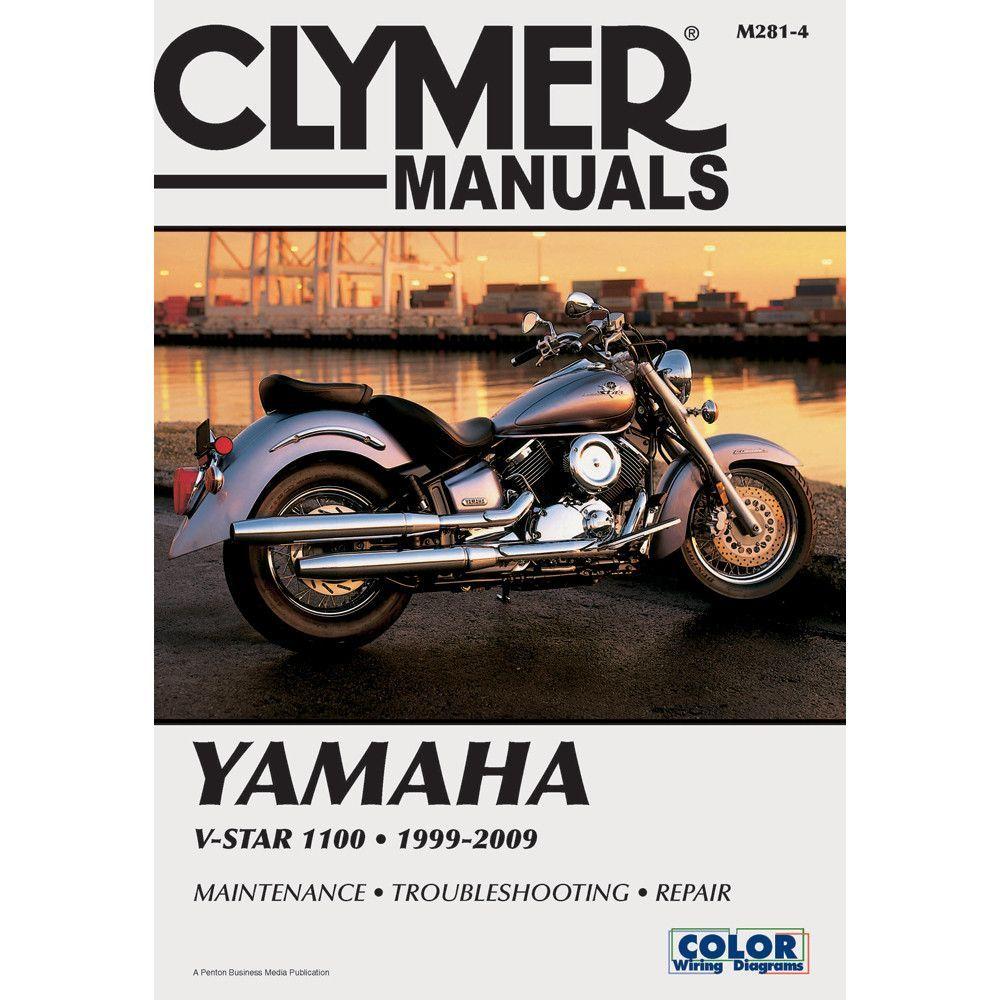 Clymer Manual Yamaha V-Star 1100