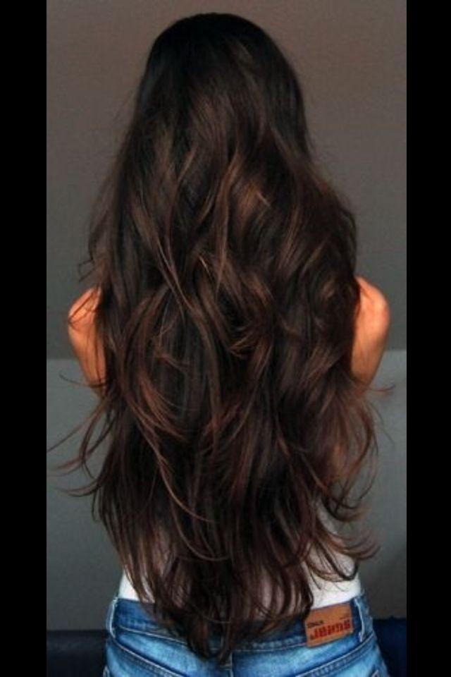 Pin By Breanna Watson On Cute Hair Hair Styles Long Hair Styles Long Healthy Hair