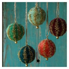 Sisal Ball Ornament