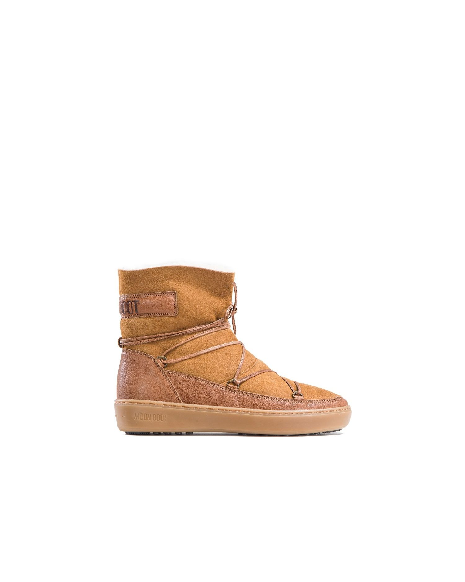 Buty Moon Boot Pulse Low Shearling Moon Boots Boots Shearling