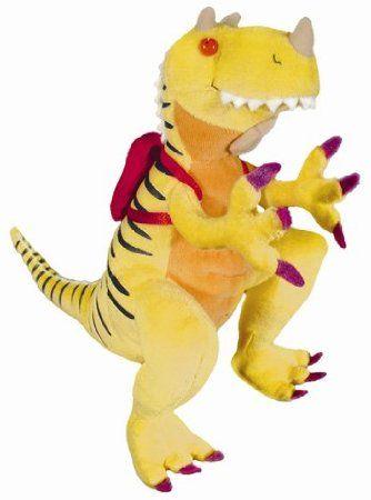 Amazon Com How Do Dinosaurs Go To School Plush Dinosaur Stuffed