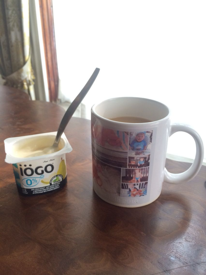 Yogurt and coffee ❤️☕️