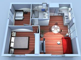 Wheelchair Access Granny Flat Google Search Accessible House Plans Accessible House Add A Room