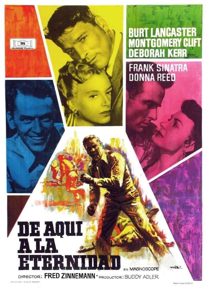 Momentos De Cine 3 De Aquí A La Eternidad Usa 1953 El Beso En La Playa Cine Carteles De Cine Carteleras De Cine