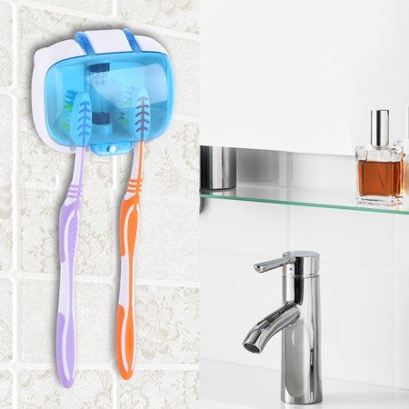 tbest uv light toothbrush sterilizer sanitizer cleaner on disinfectant spray wall holders id=84513