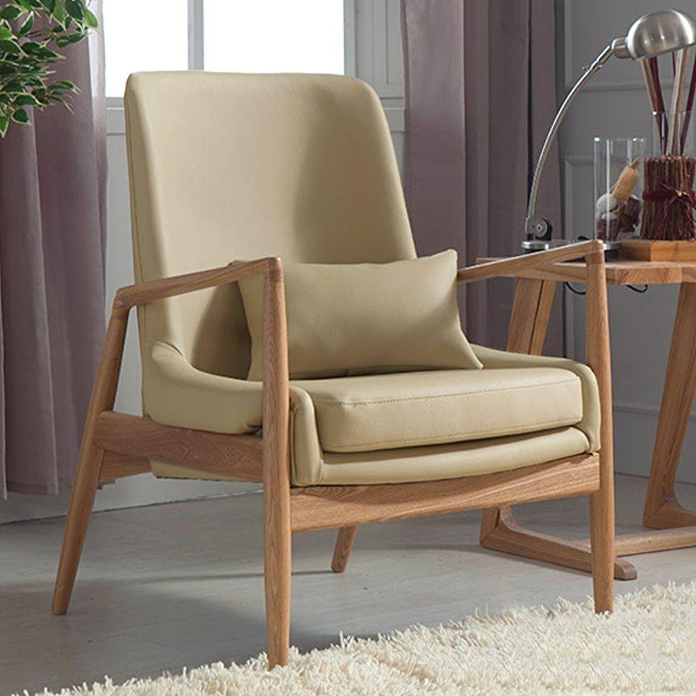 PAINTS.CUI Moderne Design Massivholz Rahmen Weich Sofa Mit Kissen (1 ...