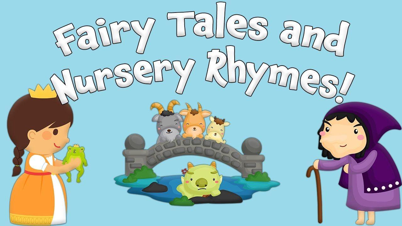 Favorite Fairy Tales and Nursery Rhymes - Live! by Kids Learning Videos |  Kids learning videos, Nursery rhymes, Fairy tales