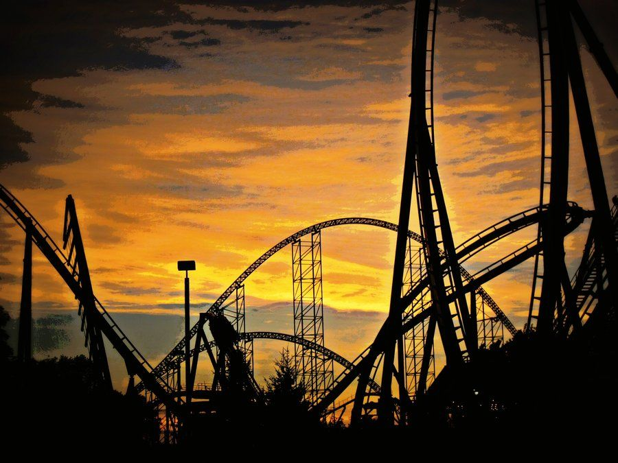 Cedar Point Sunset Cedar Point Cedar Point Ohio Sunrise Sunset