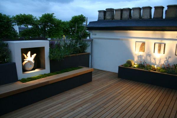 Bekannt Top Ideen für coole Dachterrasse Designs - schöne Dachterrasse HE43