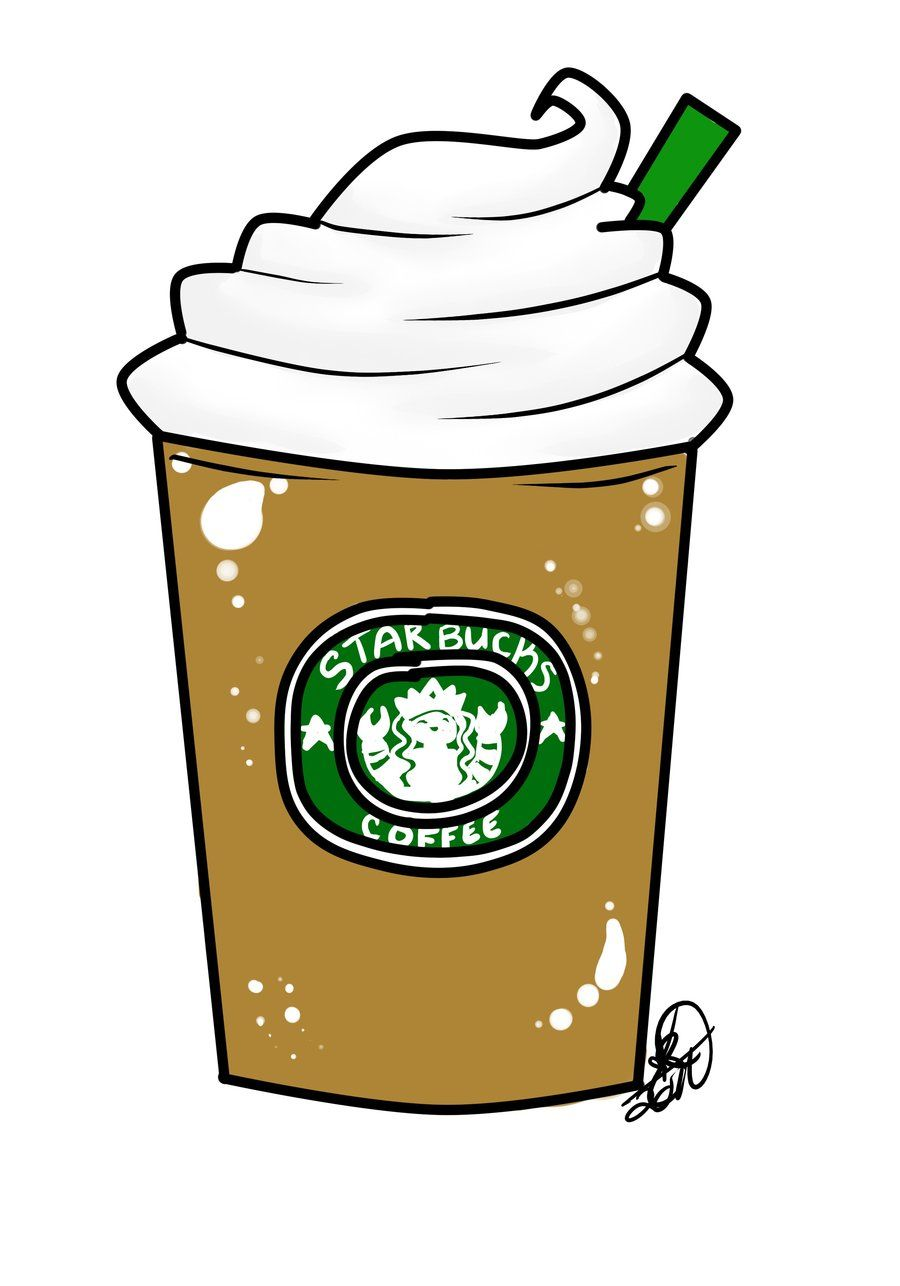Starbucks Drawing Tumblr Clipart Free Clipart Rainbow