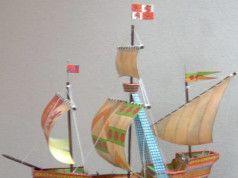 1 96 Shipyard Hms Granado Sailing Ship Paper Model By Reinhard
