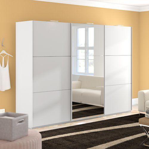Metro Lane Kierra 3 Door Wardrobe Wardrobe Closet 3 Door Sliding Wardrobe Wardrobe Design