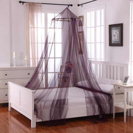 Home Round Beds Mosquito Net Bed Canopy Bedroom
