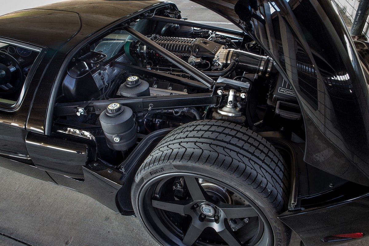 Super Duper Ford Gt  C B Gas Monkey