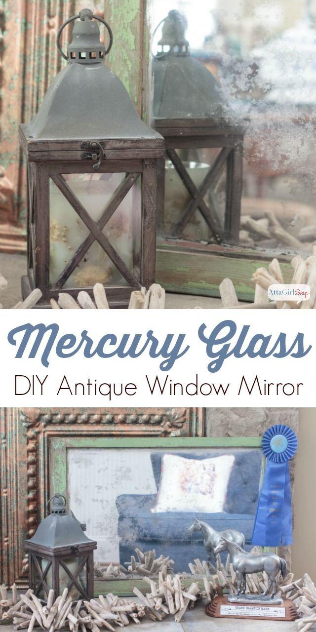 Diy Mercury Glass Mirror Mercury Glass Diy Mercury Glass Mirror Mercury Glass