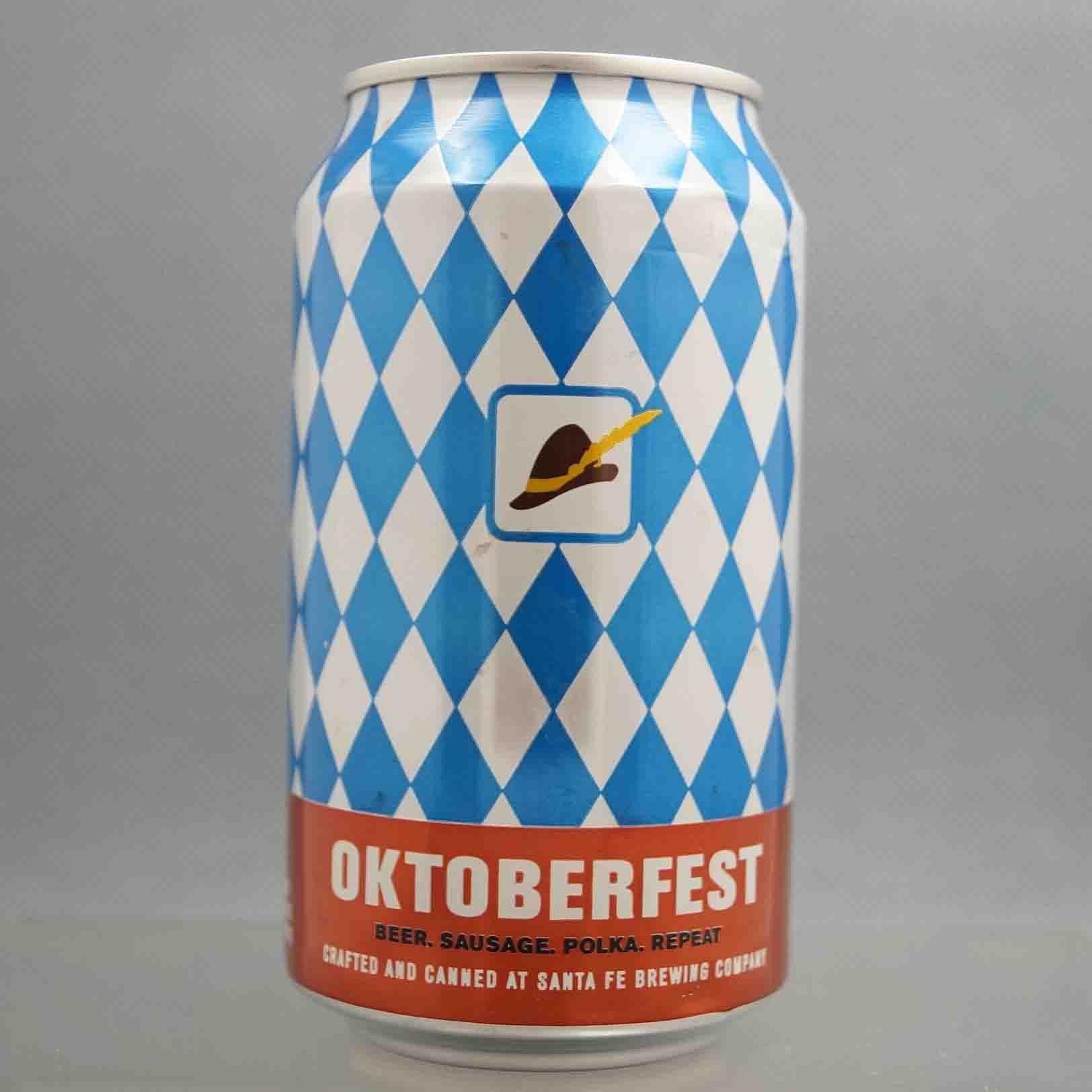 Santa Fe Oktoberfest craft brew beer can