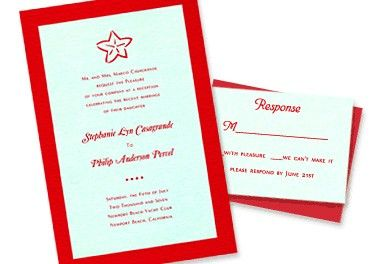 Claire 2-Layer Wedding Invitations by MyGatsby.com