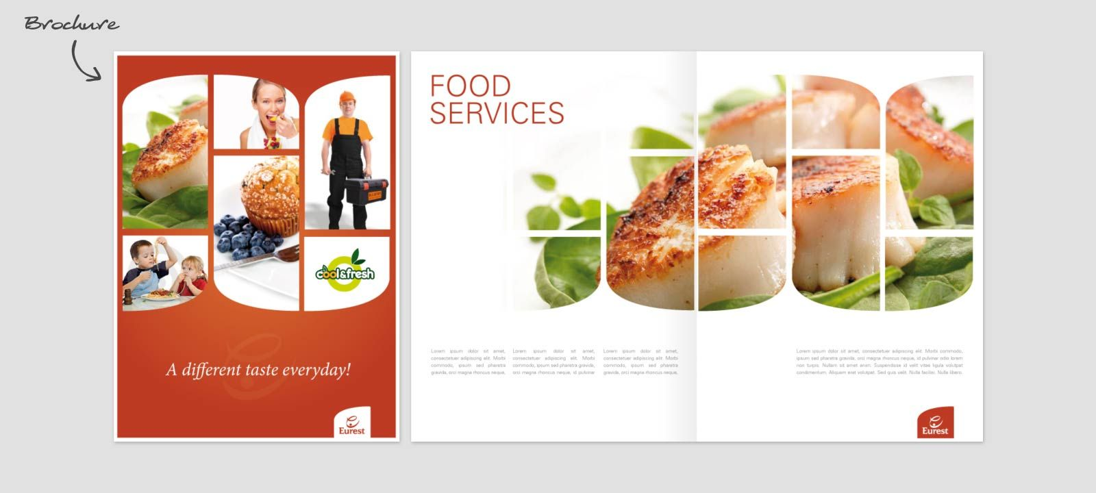 catering brochure examples