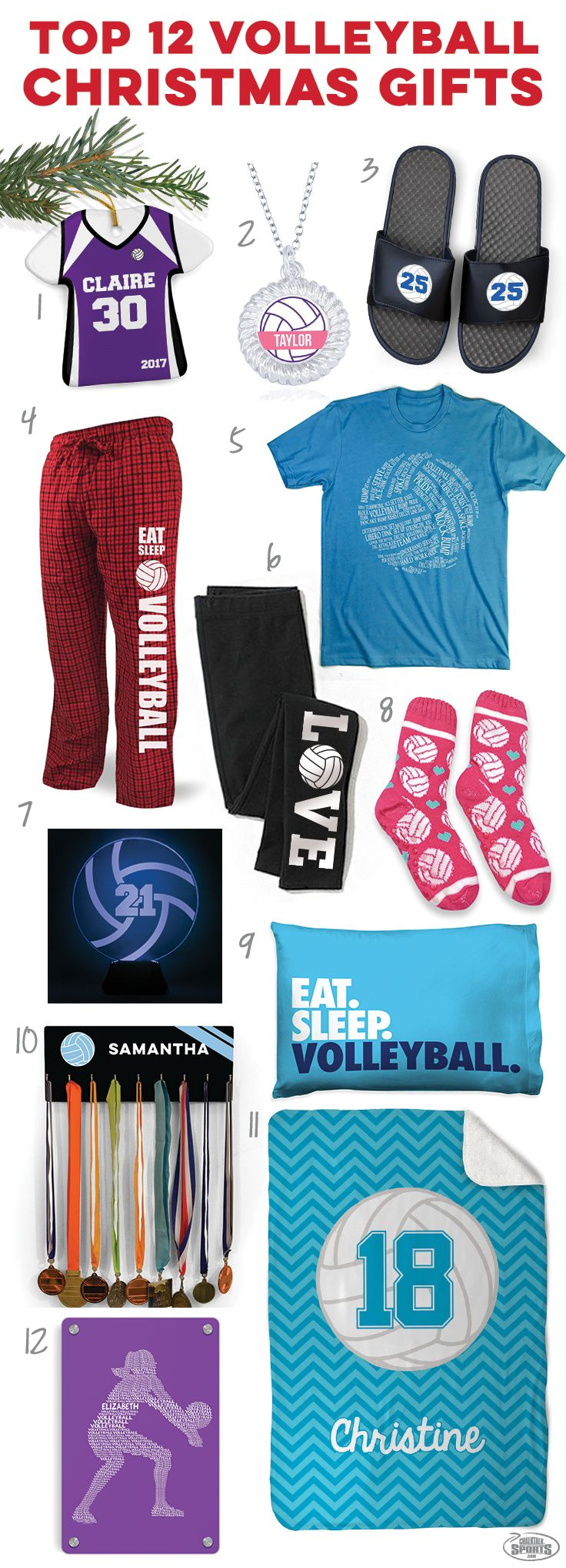 Check Out These Great Holiday Volleyball Gift Ideas Click To See More Details On Our T Volleyball Christmas Gifts Volleyball Christmas Volleyball Player Gifts