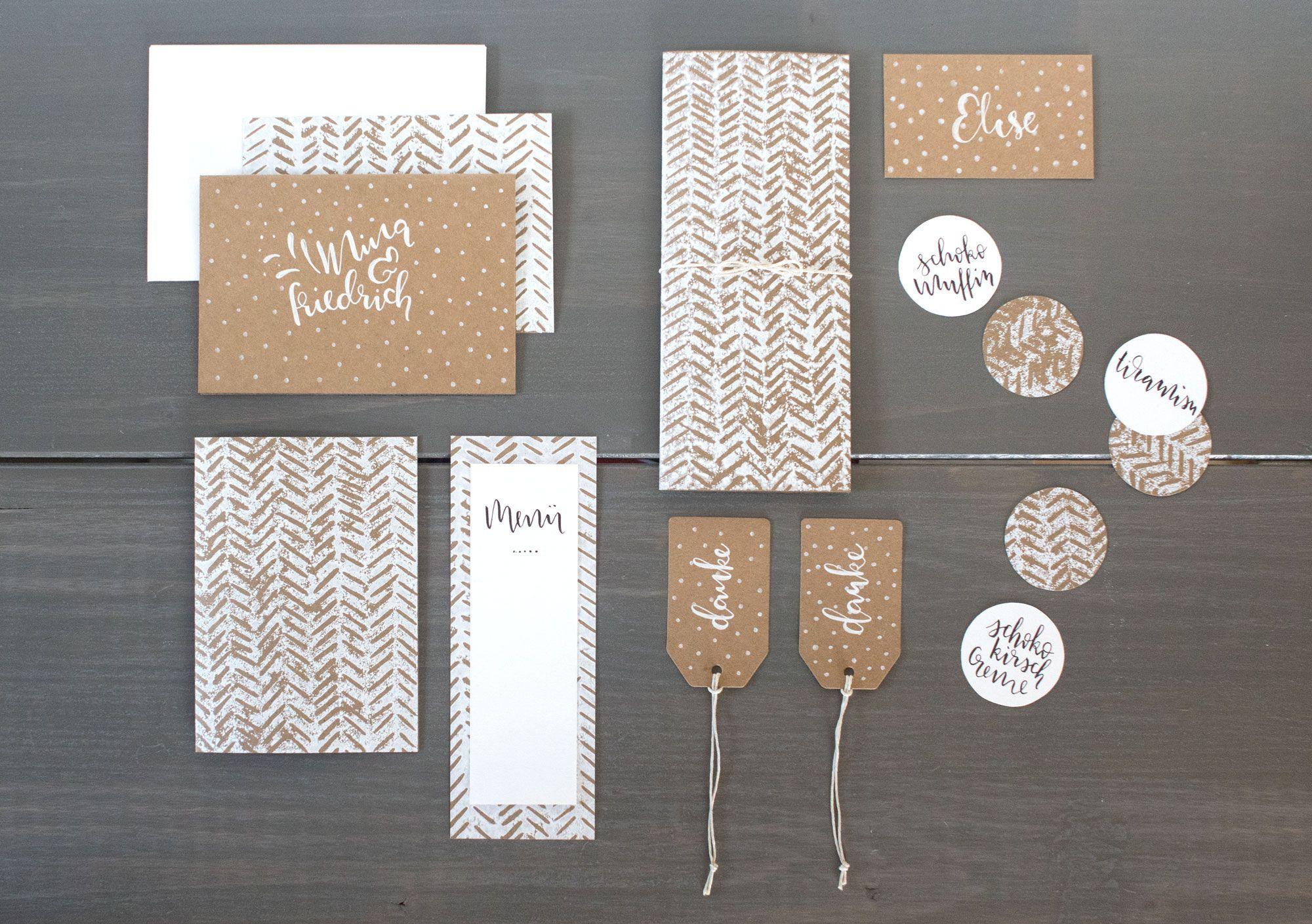 Super Susse Hochzeitskarten Von Zimteis Com Handgemacht Mit