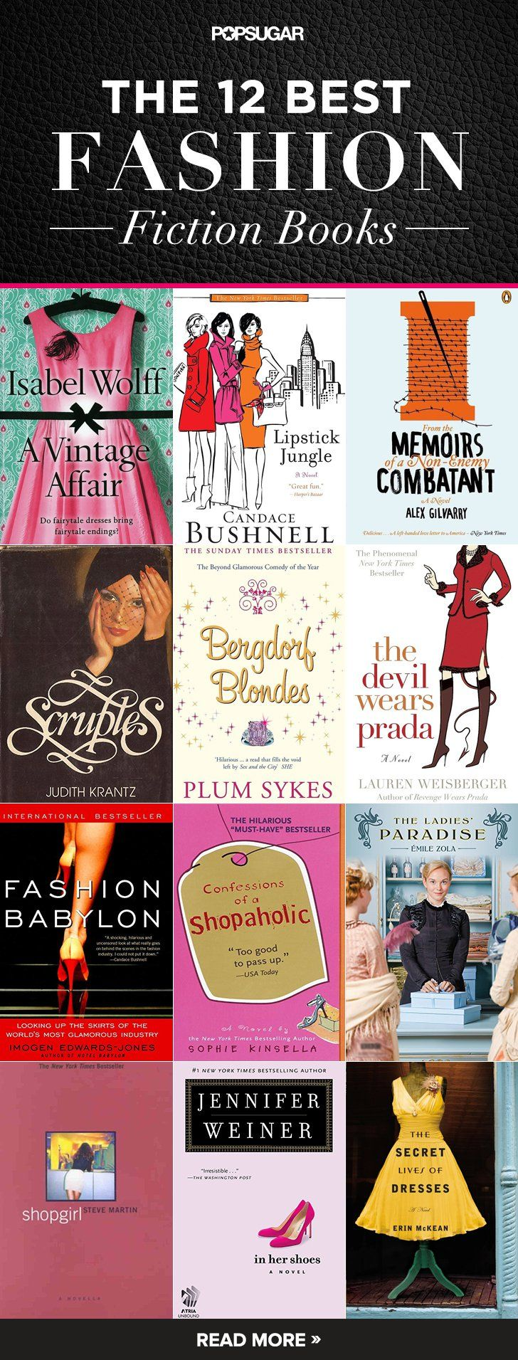 Pin for Later: The 12 Fiction Books Any True Fashion Girl Needs to Read