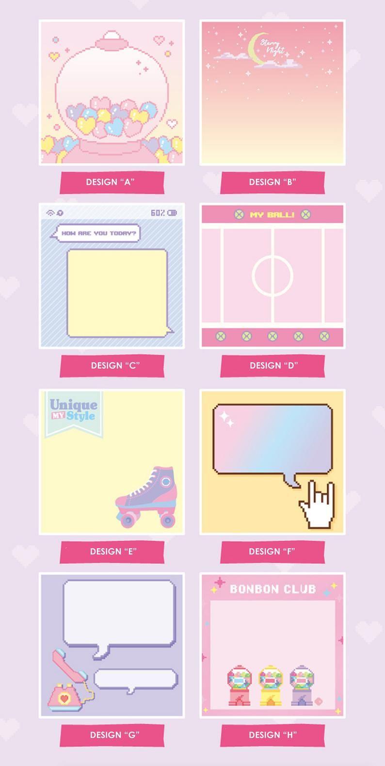 Memo Pad 8 Designs Colorful Memo Memopad Notepad Christmas
