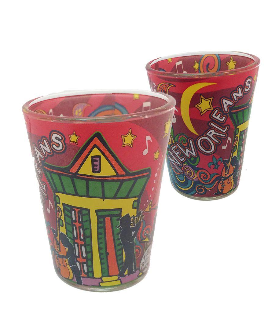 Home new orleans swirl shot glass in 2020 swirls new