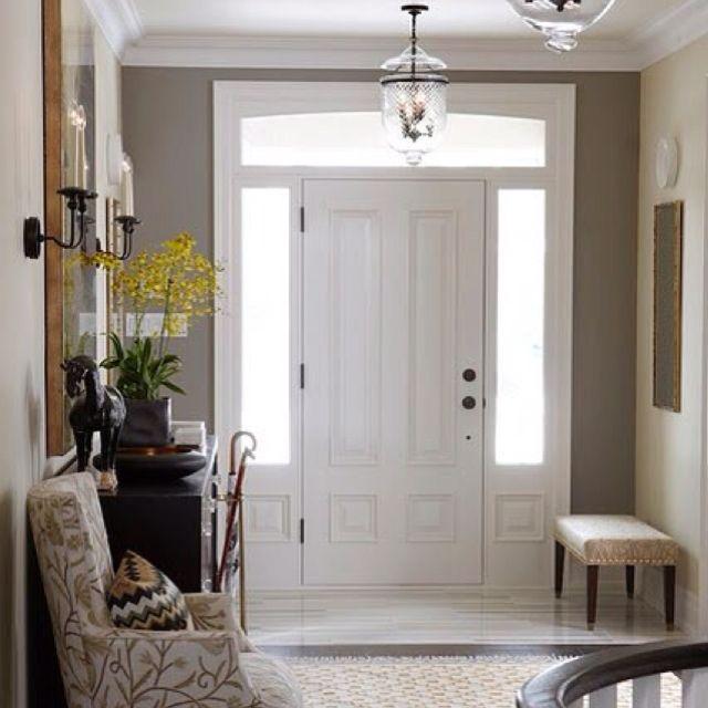 Suburban House, House Seasons, Entry