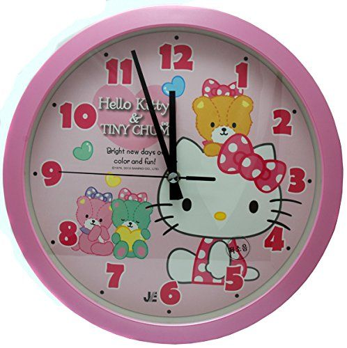 Captivating Anyone Who Loves Hello Kitty Will Adore These Hello Kitty Wall Clocks And  Want Them In Any Room Of The House. Hello Kitty Wall Clocks Make Cute Gift  Ideas! Good Looking