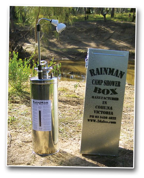Rainman Camp Shower A Great Option For A High Quality