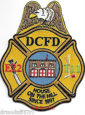 NEW-Washington-D-C-Engine-22-T-11-House-on-Hill-3-5-x-4-5-fire-patch