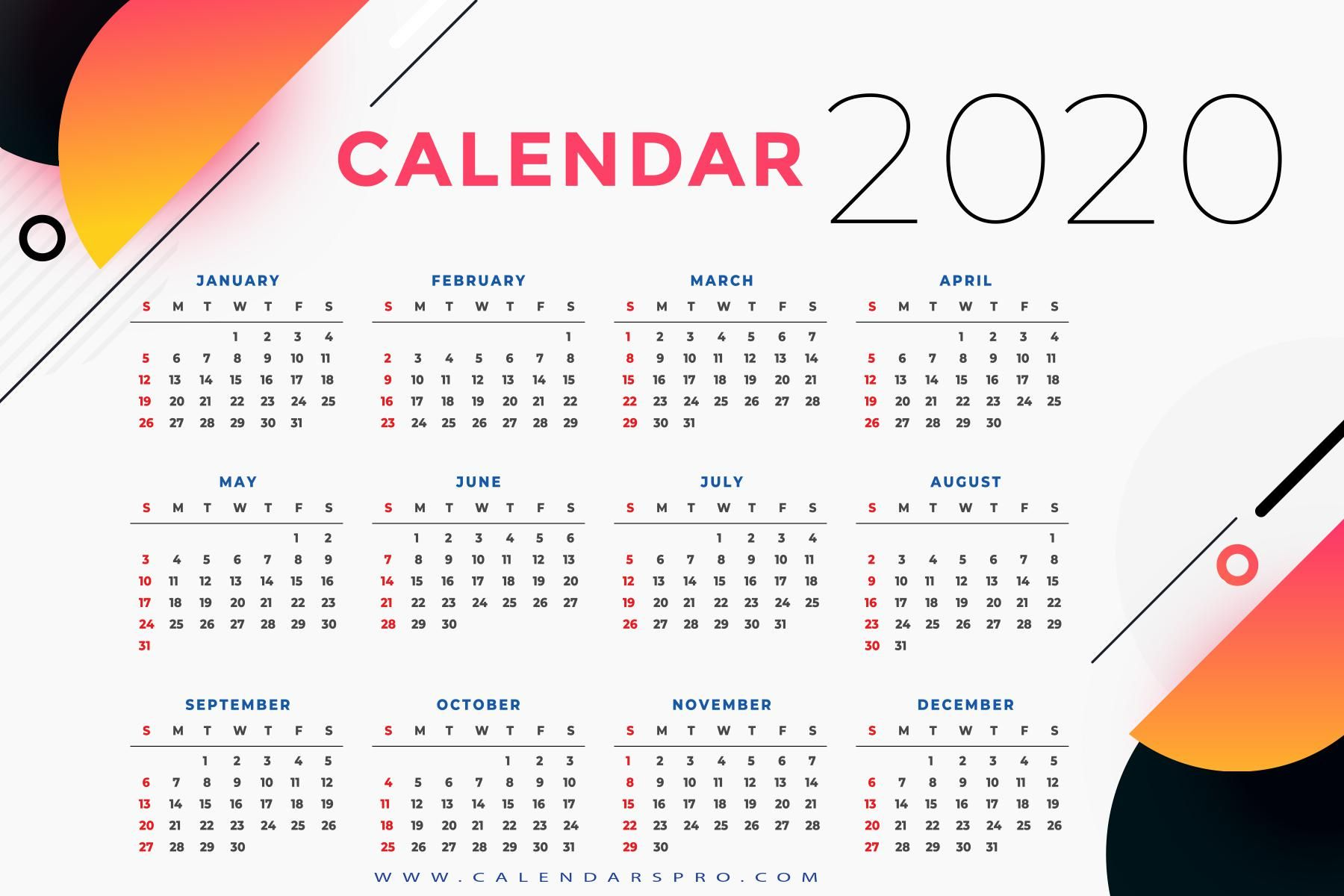 Free Calendar 2020 Online In 2020 Holiday List Personalised Calendar Calendar 2020