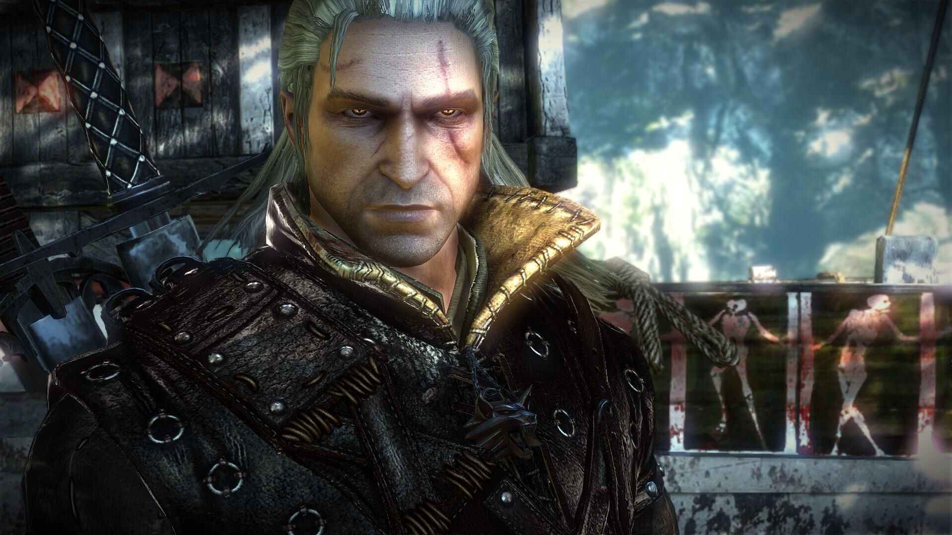 The Witcher 2 Geralt I Love That Look In His Eyes