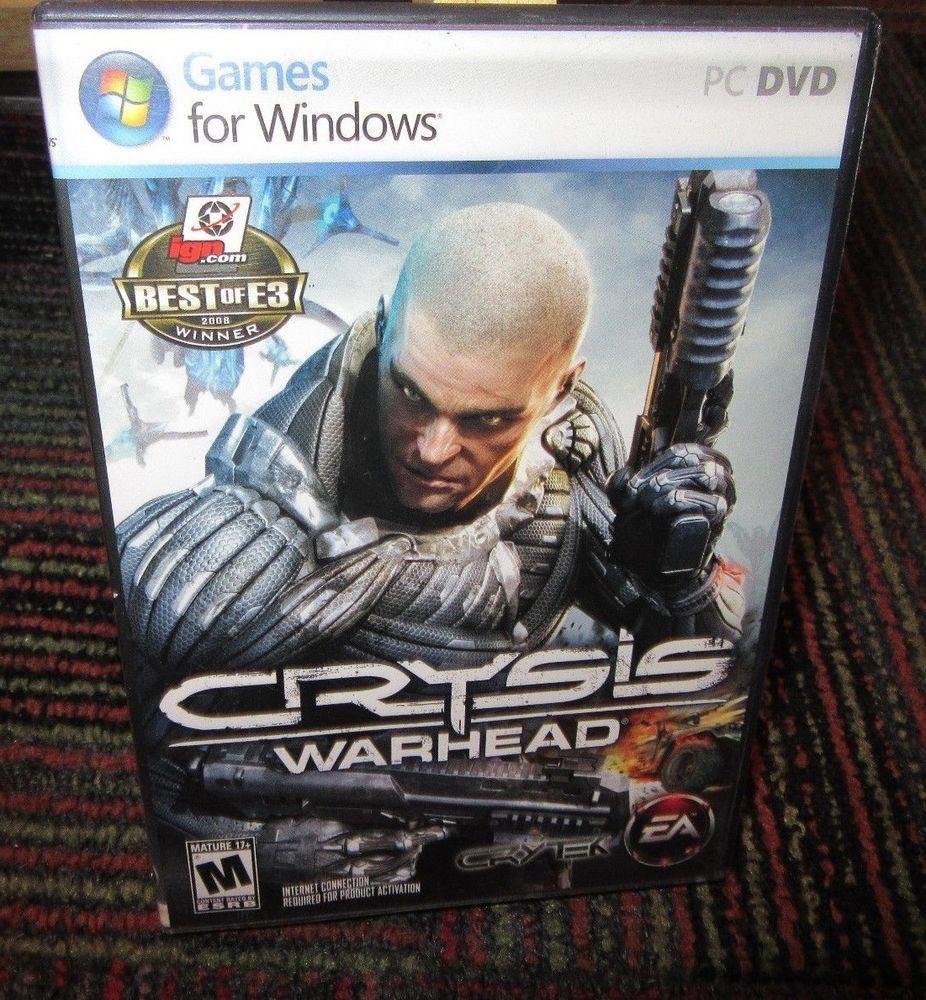 crysis warhead 2 disc pc dvd rom game for windows crytek incl