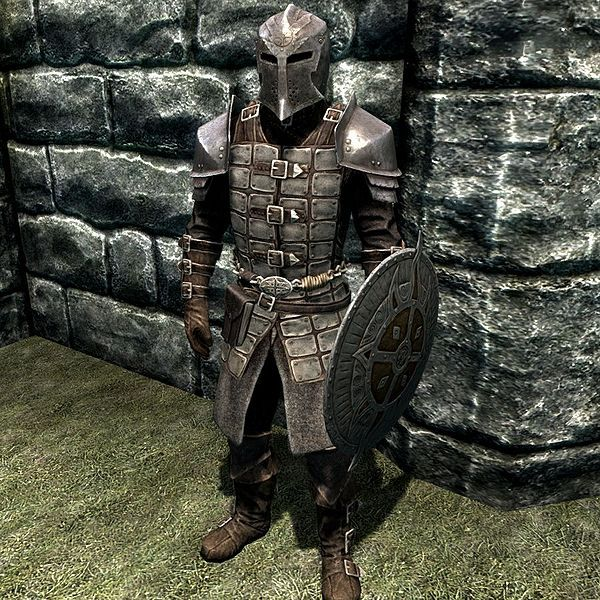 Dawnguard Armour   love that helmet, used it for a Necromancer