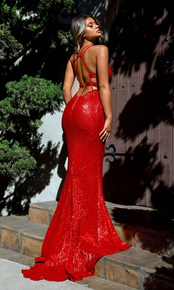 Jade\' Gown- Red | Evening | Pinterest | Jade, Gowns and Moda
