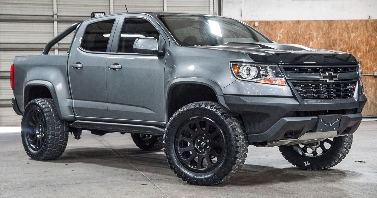 Sold Stock 9462 Lifted 2018 Chevrolet Colorado 4x4 Crew Cab