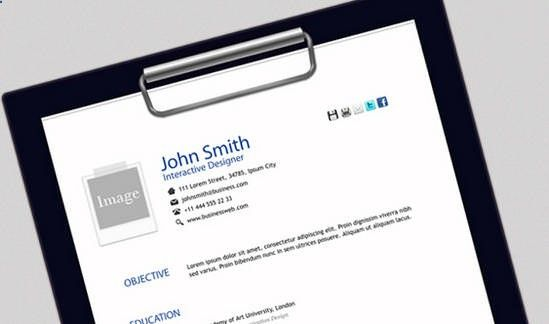 25 Free HTML Resume Templates for Your Successful Online Job - html resume