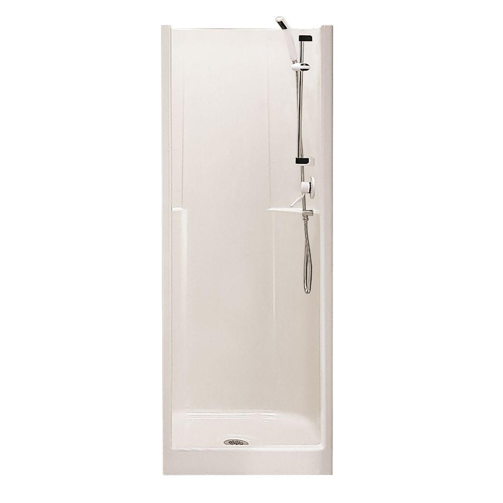 Biarritz P40 32 Inch X 29 Inch 1 Piece Shower Stall Fiberglass