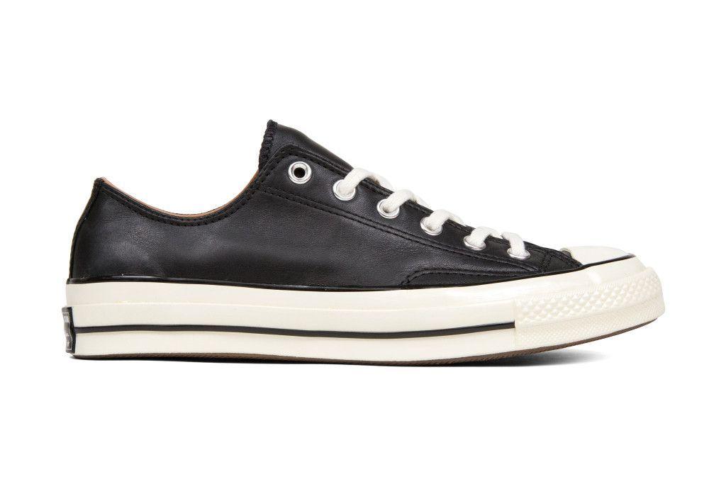 503fc11c062 Converse Chuck Taylor All Star  70 Ox Leather - Black Egret